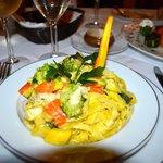 Pasta primavera (not on menu)