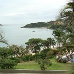 vista de la playa de joao fernandez