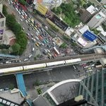 View from room - Asok Skytrain station