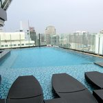 Pool on 37 floor