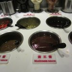 More than 10 types of dipping sauce