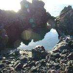 Piscina de agua de mar