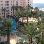 View from balcony of Room 3601