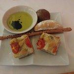 Bread at Italian Restaurant