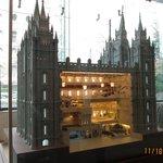 Model of Temple in Museum Area, Salt Lake City, Utah