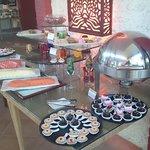 dessert buffet counter at maio.....
