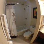 Room #2's bathroom