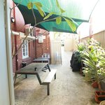Courtyard with BBQ
