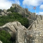 Castelo dos Mouros in Sintra, near National Palace