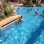Бассейн в отелле