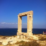 Apollo's gate in Naxos town