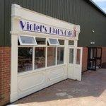 Violet's cafe at C.H.A.R.M