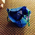 This bag isn't mine but was left in my room.