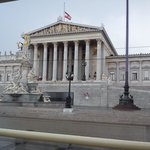 Parliament building in Vienna