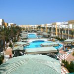 территория отеля Bel Air Azur