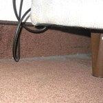 la polvere sotto il letto
