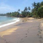 Пляж в 10-12 мин. ходьбы от гестхауса