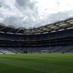 Croke Park Stadium from ground level