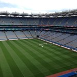 Croke Park Stadium from up in the stadium