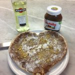 lovers' dessert pizza