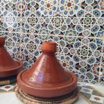 Berber Tagine and amazing tiles!