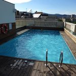 Swimming pool on the roof