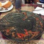 same dish 'aka tava, now empty mmmmm.