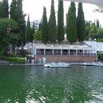l'hotel visto dal lago