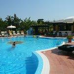 piscina dell´hotel sempre pulita e ben curata