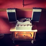 vintage turntable