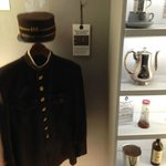 Uniform from employees of the Wagon-Lits company