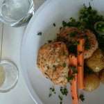 Wallenbergera lunch seafood