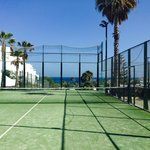 Tennis court with a view!