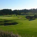 Вид из номера на гольф поля
