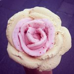 Ice cream rose