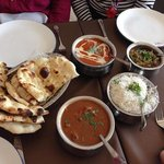 excellent curry lunch at Delhi 6