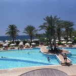 Pools at rear of Hotel - beach side