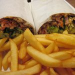 Mixed Doner Kebab Wrap - Delicious!