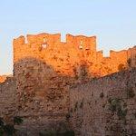 Крепостная  стена старого города Родос