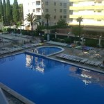 Main pool and sunbeds