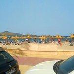 Пляж в Акудийе
