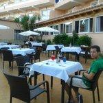 terrasse restaurant/bar