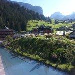 panorama vista da suite alpenroyal