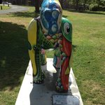 Great gorilla trail -in grounds of Tor Abbey -just behind the hotel and a great place to walk do
