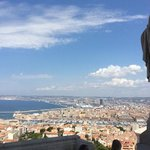 Panorama di Marsiglia da Notre Dame de la Garde