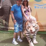 Me and my hubby at Barcelona Zoo.
