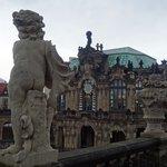 Zwinger a Dresda