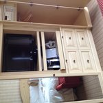 tv in dresser cabinet