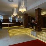 Entry/reception/elevators