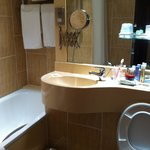 Small but very clean bathroom